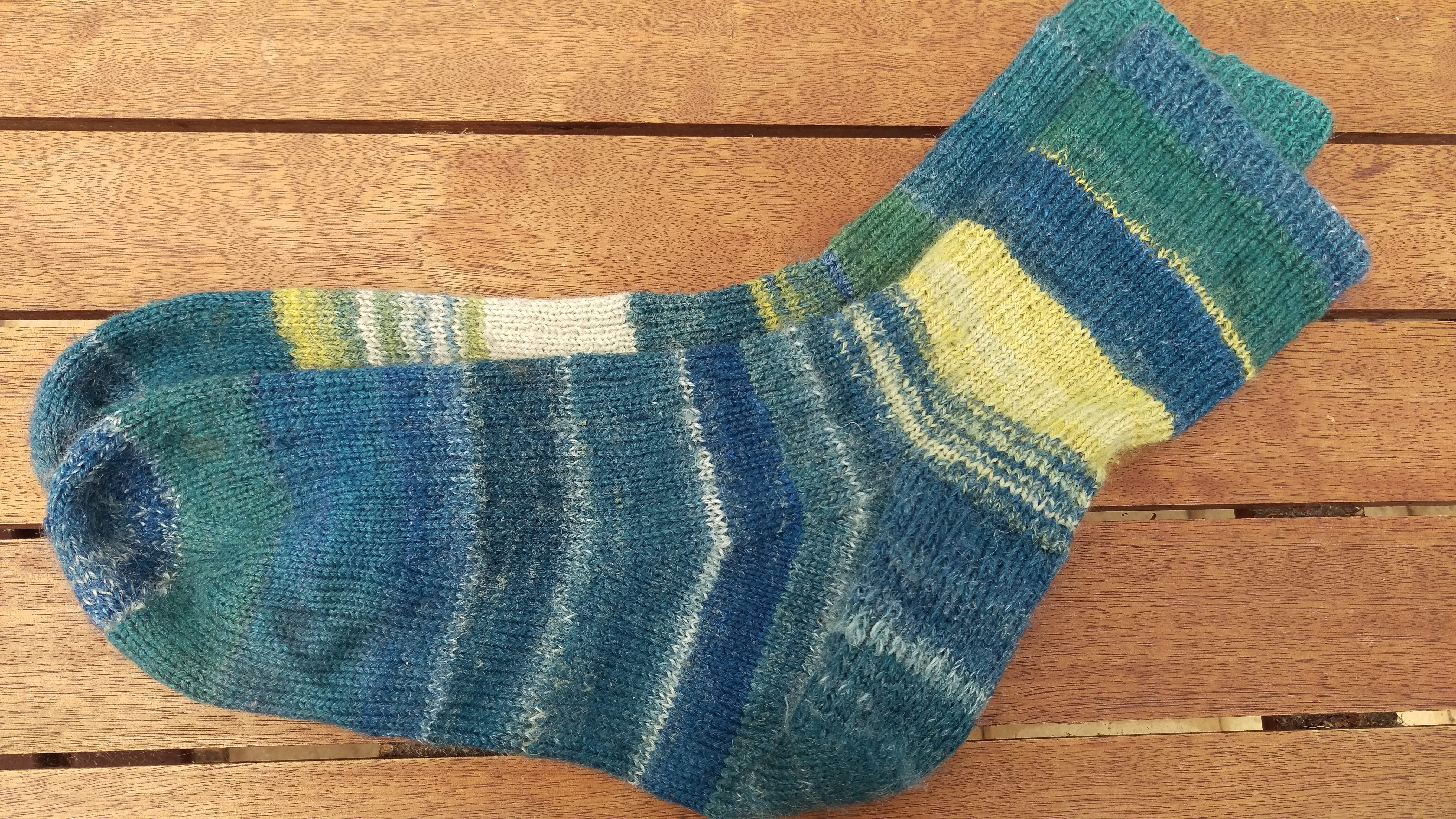 Handspun socks in use 1 & 2 PLUS Knitting in a patch | Local & Bespoke